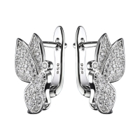 Швензы Бабочки, цвет платина
