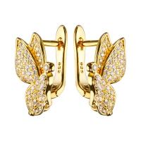 Швензы Бабочки, цвет золото