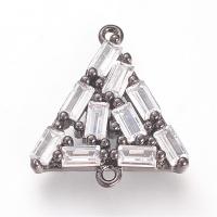 Коннектор Треугольник 17,5*15,5мм, цвет чёрный
