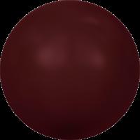 10 бусин Crystal Bordeaux  Pearl