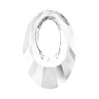 Swarovski Подвеска Овал 20мм, Crystal (6040)