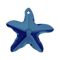 Swarovski Подвеска Звезда 16мм, Crystal Bermuda Blue (6721)