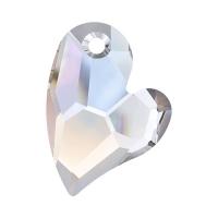 Swarovski любящее Сердце 17мм Crystal AB (арт.6261)