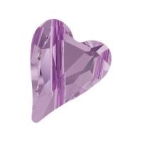 Swarovski Бусина Сердце 12мм Wild Heart (арт.5743) Violet