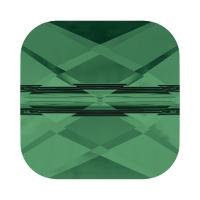 Swarovski бусина 6мм Mini Square Beade- Emerald (5053)