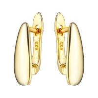 Швензы Капля объёмная mini, цвет золото