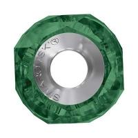 Шарм с логотипом Swarovski, 14мм (арт.5928) Emerald