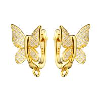Швензы Бабочка новая 14,5мм, цвет золото