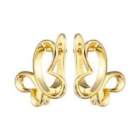 Швензы Контур Бабочки, цвет золото