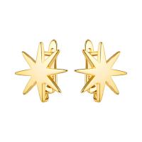 Швензы Звезда полированная, цвет золото