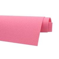 Фетр жёсткий Ю.Корея; толщина 1.2мм; лист 20*30см; Фламинго
