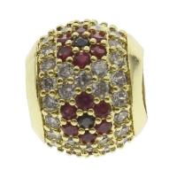 Бусина-пандора с Цветком, цвет золото