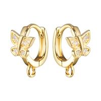Швензы Кольцо с Бабочкой, цвет золото