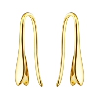 Швензы для подвесок Swarovski; цвет золото