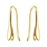 Швензы-Пара для вставки подвесок Swarovski; цвет золото