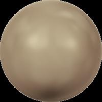 10 бусин Crystal Bronze  Pearl