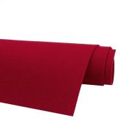 Фетр жёсткий Ю.Корея; толщина 1.2мм; лист 20*30см; Красный
