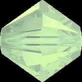 Swarovski 20 Бусин Xilion, 3мм; Chrysolite Opal (5328)