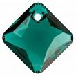 Swarovski Подвеска Ромб 9мм Emerald (6431)