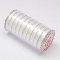 Многослойная нить эластичная, Прозрачная, толщина 0.8мм; 10метров