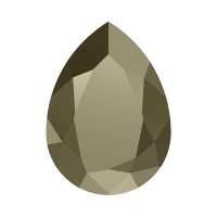Swarovski Pear 14*10мм Metallic Light Gold