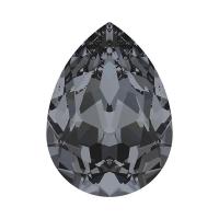 Swarovski Pear 14*10мм Silver Night