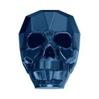 Swarovski Бусина арт. 5750 Scull, Crystal Metallic Blue 2X