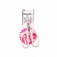 Ножницы для шитья розовые, 16см; короткое лезвие