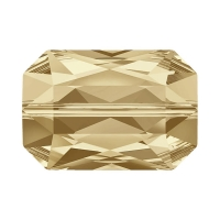 Swarovski Бусина 14*9.5мм  Crystal Golden Shadow (5515)