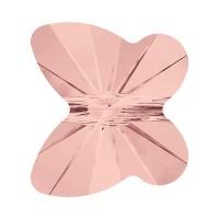 Swarovski бусина Бабочка Butterfly-6мм, Blush Rose (5754)