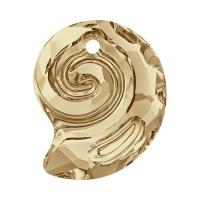 Swarovski Ракушка Sea Snail Golden Shadow (арт.6731)