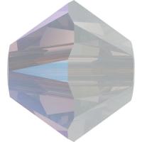 Swarovski 10 Бусин, 4мм, 5328 White Opal Shimmer