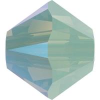 Swarovski 10 Бусин, 4мм, 5328 Chrysolite Opal Shimmer