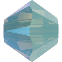 Swarovski 10 Бусин, 4мм, 5328 Pacific Opal Shimmer