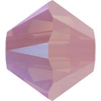 Swarovski 10 Бусин, 4мм, 5328 Rose Water Opal Shimmer