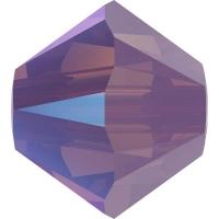 Swarovski 10 Бусин, 4мм, 5328 Cyclamen Opal Shimmer