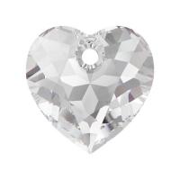 Swarovski Сердце многогранное 10.5мм Crystal (6432)