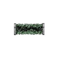 Swarovski Fine Rocks Tube 15мм  #360 Eriniti, стальные Спейсеры (арт.5950)