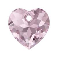 Swarovski Сердце многогранное 10.5мм Light Amethyst (6432)