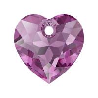 Swarovski Сердце многогранное 10.5мм Amethyst (6432)