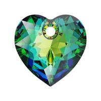 Swarovski Сердце многогранное 10.5мм Vitrail Medium (6432)