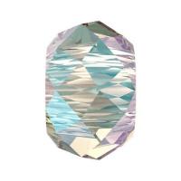 Бусина Swarovski, 6мм Briolette XL Hole (арт.5042) Crystal Shimmer 2x