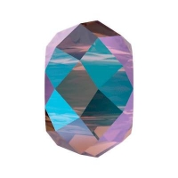 Бусина Swarovski, 6мм Briolette XL Hole (арт.5042) Amethyst Shimmer 2x