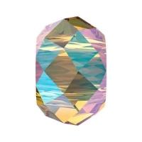 Бусина Swarovski, 6мм Briolette XL Hole (арт.5042) Light Colorado Topaz  Shimmer 2x