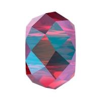 Бусина Swarovski, 6мм Briolette XL Hole (арт.5042) Scarlet Shimmer 2x