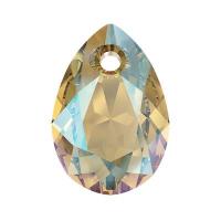 Swarovski Груша Pear Cut 11.5мм Light Colorado Topaz Shimmer (6433)