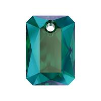 Swarovski подвеска 11.5мм Прямоугольник - Emerald Shimmer (6435)