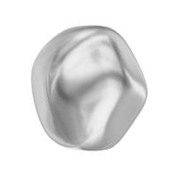 Жемчуг Swarovski барочный, круглый 8мм (арт.5841); Light Grey, 1 бусина