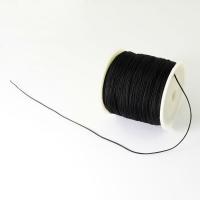 Нить для браслета Шамбала 0,9мм, цвет чёрный; 10 метров