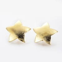 Пуссеты Звезда 22мм, цвет золото